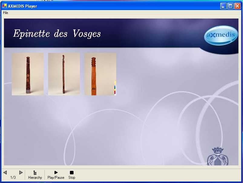AXMEDIS ActiveX Cross Media Player screenshot